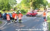25.05.2012 um 17:15 Uhr - Verkehrsunfall mit 3 beteiligten Fahrzeugen