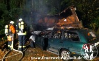 24.10.2012 um 06:33 Uhr - Verkehrsunfall mit Brandentwicklung