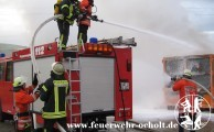 26.11.2012 um 14:41 Uhr - Containerbrand Mülldeponie