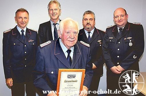 04.10.2013 – 40 jähriges Dienstjubiläum Erich Gäfeke