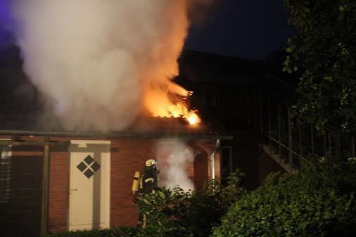 27.07.2013 um 03:34 Uhr – Wohnhausbrand