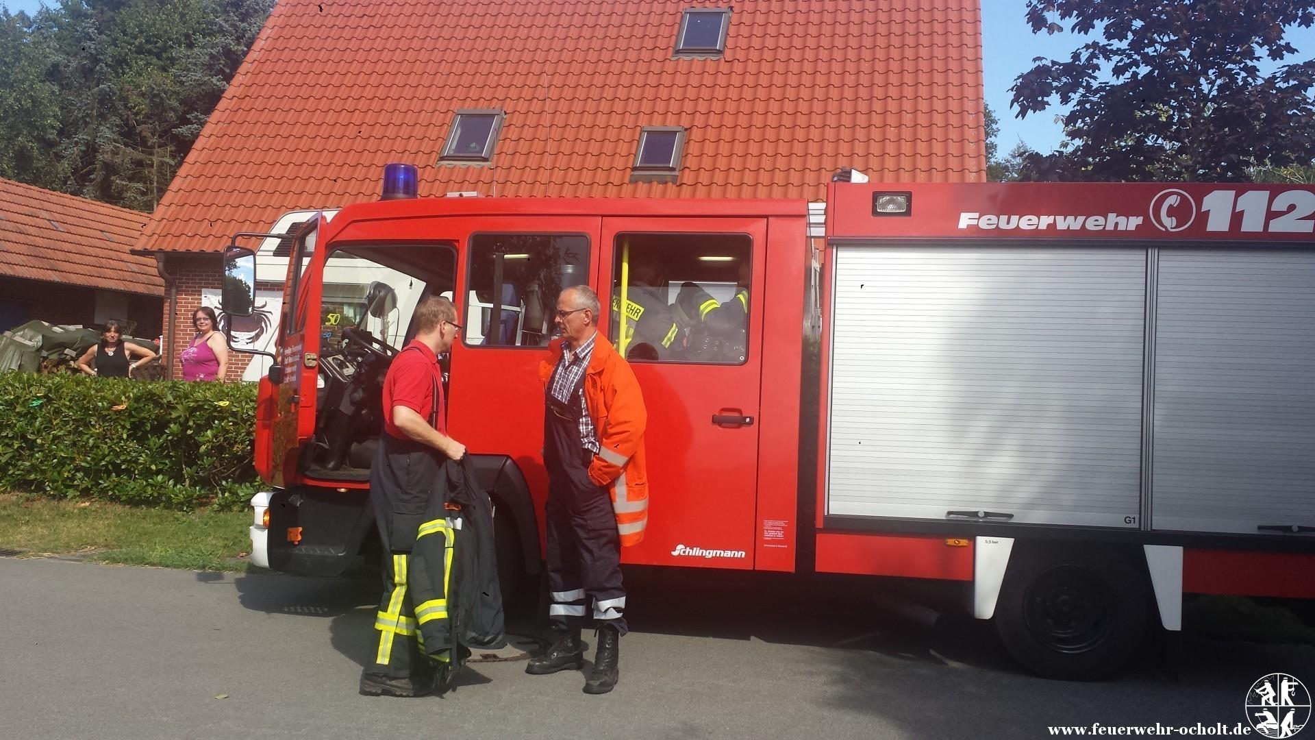 12.07.2014 um 16:26 Uhr – Flächenbrand Hochkamp