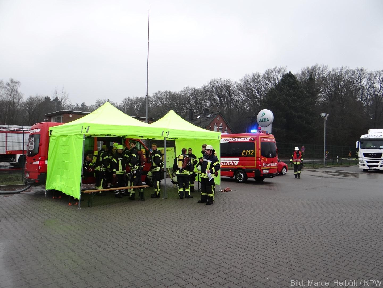 28.03.2015 um 16:40 Uhr – Großübung Stadtgemeinde Westerstede