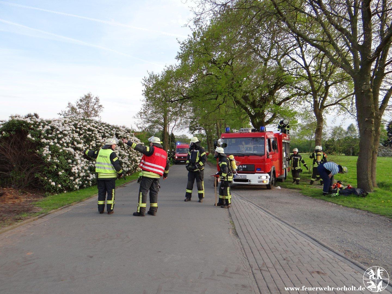 """Am 11.05.2015 um 19:15 Uhr – Einsatzübung """"Wohnungsbrand Y – Person vermisst"""""""