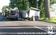 """Am 27.06.2015 um 19:08 Uhr - """"VU 3 Personen eingeklemmt"""" Westersteder Straße"""