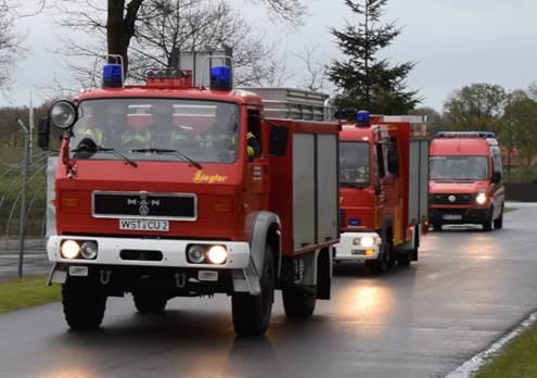 """Am 24.04.2017 um 19:25 Uhr – Einsatzübung """"Gefahrgutunfall in Ocholterfeld"""""""